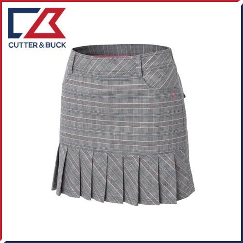 커터앤벅 여성 면 스판소재 체크무늬 큐롯 치마/스커트- PB-11-161-205-23