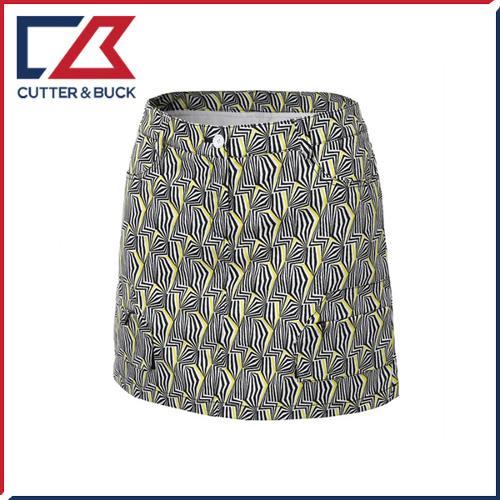 커터앤벅 여성 스판소재 기하학 패턴프린트 큐롯 치마/스커트- PB-11-161-205-21