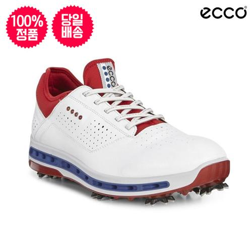 ECCO Men's Cool 18 GTX WHITE/TOMATO 130114-50431