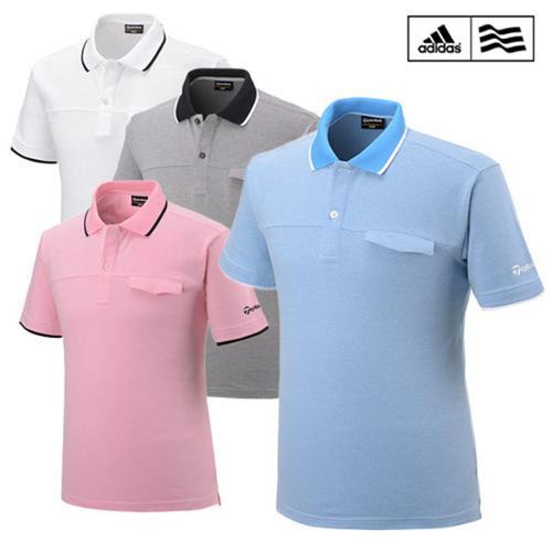 아디다스 ADIDAS 포켓 포인트 피케 반팔 티셔츠 B16674 B16675 B16676 B16677 골프의류 골프웨어 골프용품