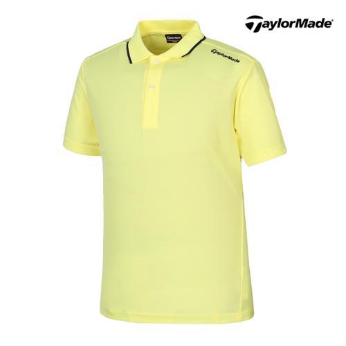 [테일러메이드] 남성 라인배색 카라넥 반팔 티셔츠 B16653_GA