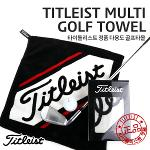 [TITLEIST] 정품 다용도 골프타올 블랙 TA6ACHTWL-0
