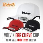 [2017년신제품]볼빅골프正品 이어 커브 귀목커버장착 자외선차단 골프캡 모자