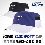 [2017년신제품]볼빅골프正品 VAGS 스포티 군모 자외선차단 골프캡 모자
