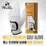 G-STAR 지스타 정품 WELLS GOLF GLOVE 웰스 남성용 양/합피 골프장갑-1PCS