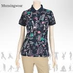 [일본수입정품] SL1690 먼싱웨어 팝 여성 반팔티셔츠
