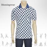 [일본수입정품] SG1798 먼싱웨어 패턴 남성 반팔티셔츠