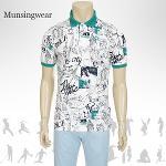 [일본수입정품] SG1786 먼싱웨어 카라 남성 반팔티셔츠