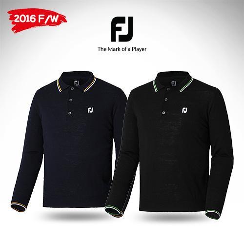 [풋조이] 롱슬리브 스웨터 PK셔츠(24657/24658)_GA