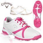 사은품(양말2켤레)+싸이러스 여성 골프화+신발주머니/한국캘러웨이 정품