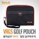 [2017년신제품]볼빅골프正品 VAGS 일반 골프 파우치백(VAGSPC05BK)