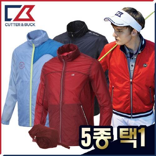 커터앤벅 남성 최고급 방풍소재 바람막이/자켓 5종 택1