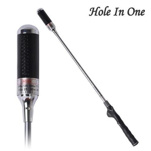 홀인원 임팩트 스윙연습기 신형 남성용 실버 KID-G9000 골프연습용품 Hole In One IMPACT SWING TRAINER