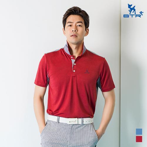 ★신상 추가인하★[BTR] 투톤 원단 배색 반팔티셔츠 로조(남) BOT4861M