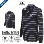 [CRISENTOO] 크리센투 스트라이프 로고 B타입 셔츠 Model No_C1-7L046