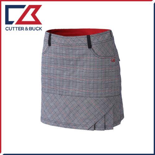 커터앤벅 여성 면소재 체크 패턴포인트 큐롯 치마/스커트 - PB-11-162-205-28