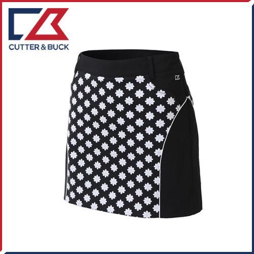 커터앤벅 여성 면 스판소재 패턴포인트 큐롯 치마/스커트 - PB-11-162-205-22