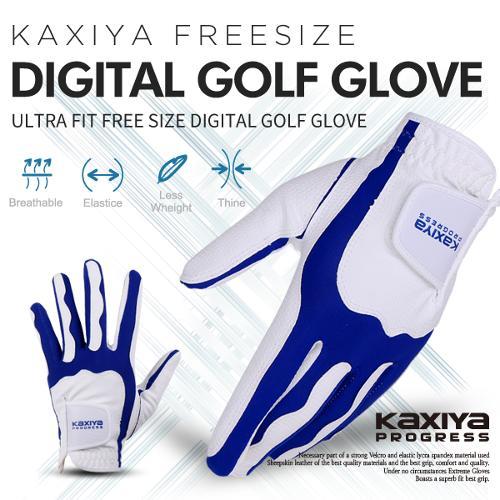 [카시야] 프로그레스 울트라핏 프리사이즈 디지털 골프장갑