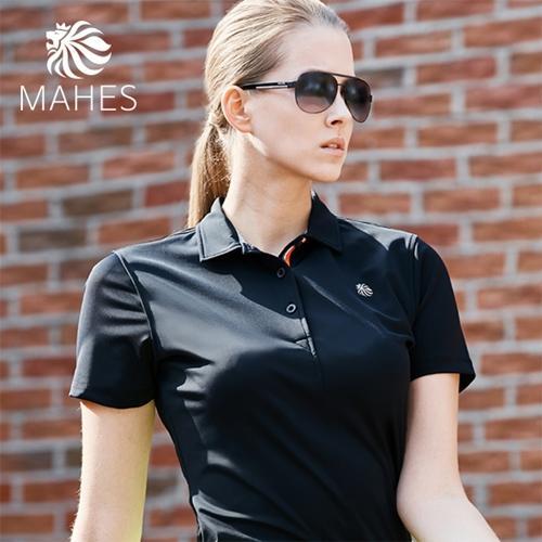 마헤스 뮤어 라이언 125 여성 골프셔츠 GS60295