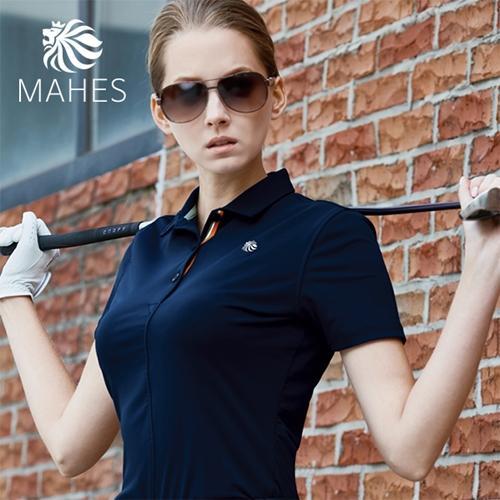 마헤스 뮤어 라이언 125 여성 골프셔츠 GS60294