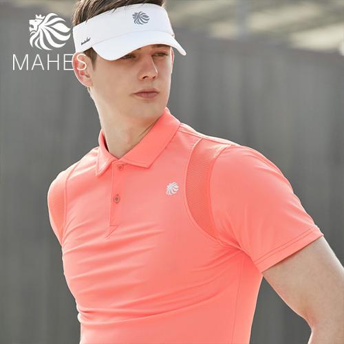 마헤스 더스틴 라이언 318 남성 골프셔츠 GS50274