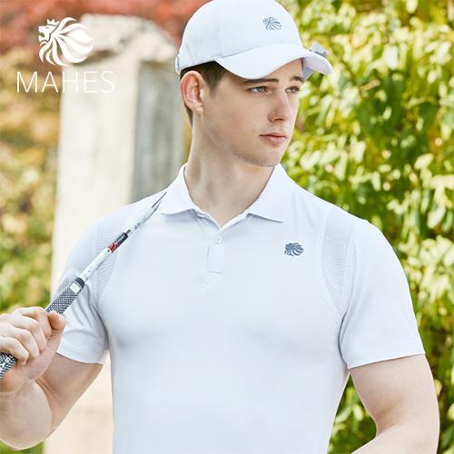 마헤스 더스틴 라이언 318 남성 골프셔츠 GS50275