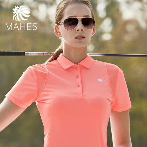 마헤스 더스틴 라이언 318 여성 골프셔츠 GS60274