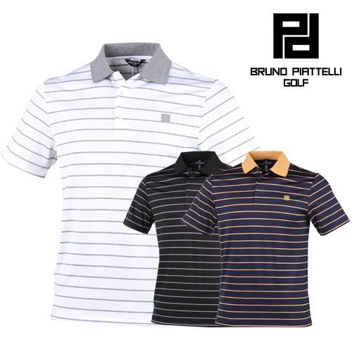 브르노 피아텔리 고급소재 골프 티셔츠 BP7MMTS006