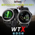 [골프버디정품] GolfBuddy 2017년 WTX 풀컬러 터치 스크린 시계형 거리측정기