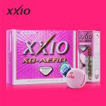 젝시오 XD 에어로 골프공 핑크/던롭골프공/3피스/골프볼/컬러볼/칼라볼/필드용품/골프용품