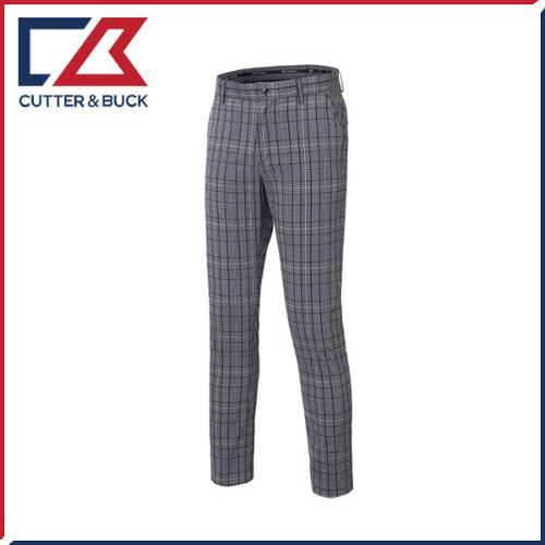 커터앤벅 남성 노턱 스판소재 체크무늬 기능성 골프바지/팬츠- PB-11-172-104-24