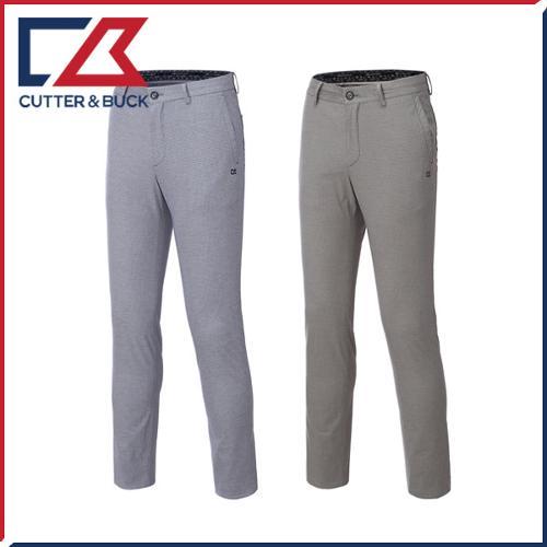 커터앤벅 남성 노턱 면 스판소재 체크무늬 골프바지/팬츠 - PB-11-172-104-21