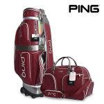 핑 PING SC 미네 백세트 캐디백 보스턴백 골프가방 골프용품 필드용품 PING MINET BAG SET