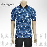 [일본수입정품] 먼싱웨어 SG1793 M436 멀티컬러 남성티셔츠