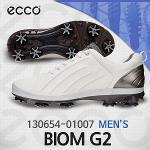 에코 130654-01007 바이옴 G2 화이트 골프화(남성)