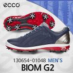 에코 130654-01048 바이옴 G2 네이비 골프화(남성)