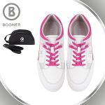 보그너 BOGNER 여성 스포티 배색포인트 키높이 스파이크 골프화 - BN-01-172-218-03
