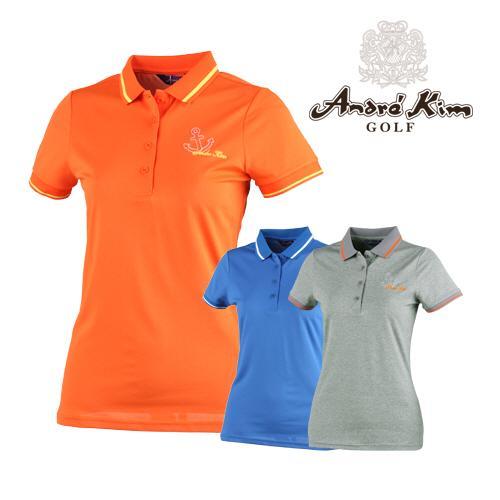 앙드레김 골프 여성용 앵커 카라셔츠 매장판 AB7BWTS115