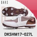 닥스 DKSHM17-027L 골드 여성골프화