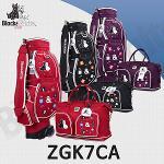 블랙앤화이트 ZGK7CA 바퀴형 캐디백세트 (여성)