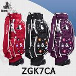블랙앤화이트 ZGK7CA 바퀴형 캐디백 골프백(여성)