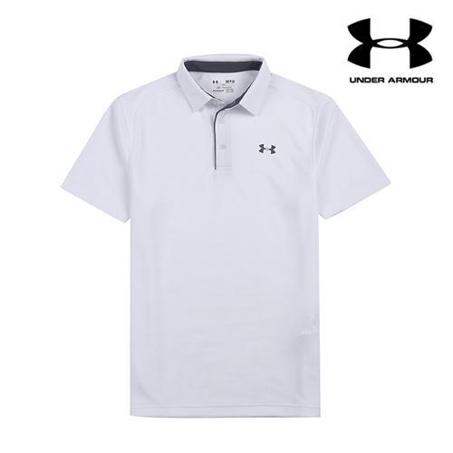 [언더아머] 남성 UV컷 기능성 티셔츠_WH_GA