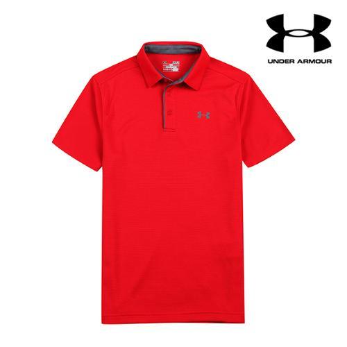 [언더아머] 남성 UV컷 기능성 티셔츠_RD_GA