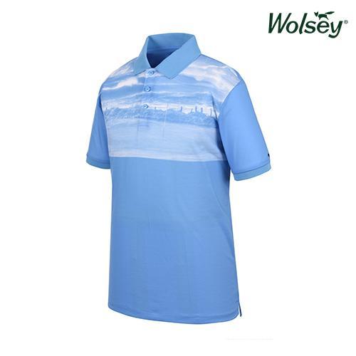 봄 여름 브릿라인 남성 반팔 티셔츠 W61MTP44UBL