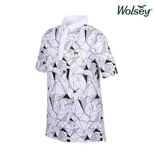 봄 여름 브릿라인 남성 반팔 티셔츠 W61MTP43UWT