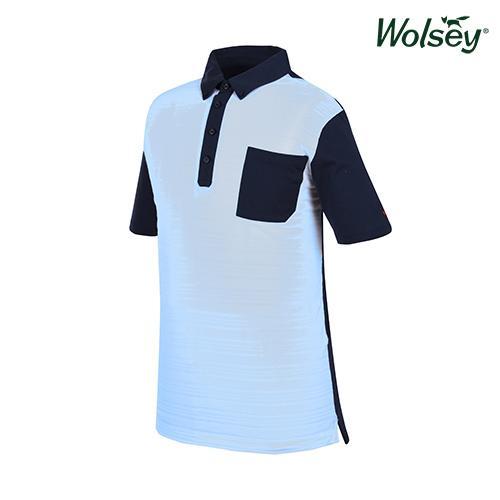 봄 여름 브릿라인 남성 반팔 티셔츠 W61MTJ45USB