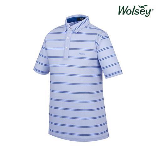 여름 남성 반팔 티셔츠 W62MTJ661BL