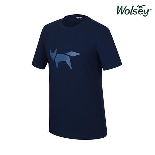 여름 남성 반팔 티셔츠 W52MTR98DBL
