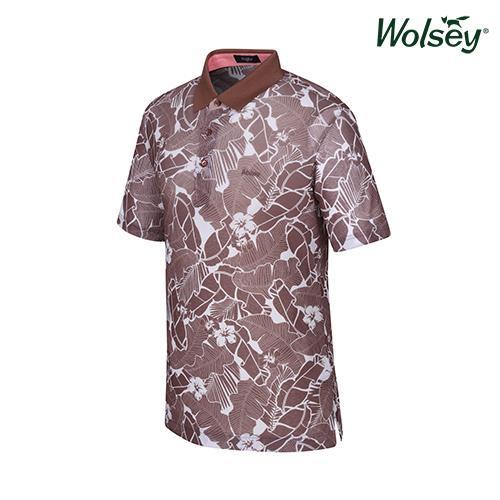 여름 남성 반팔 티셔츠 W52MTP840BR