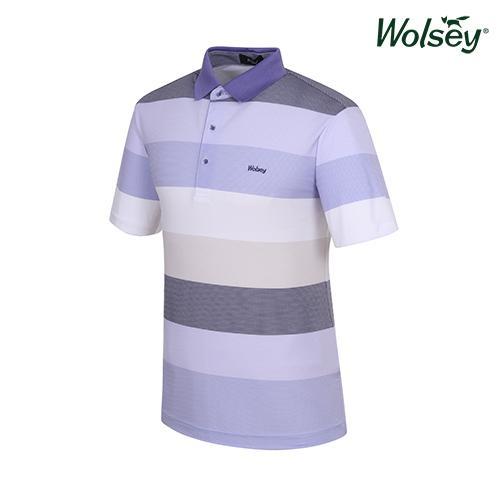 여름 남성 반팔 티셔츠 W52MTP730BL